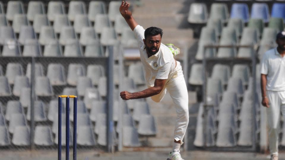 Jaydev Unadkat in action.