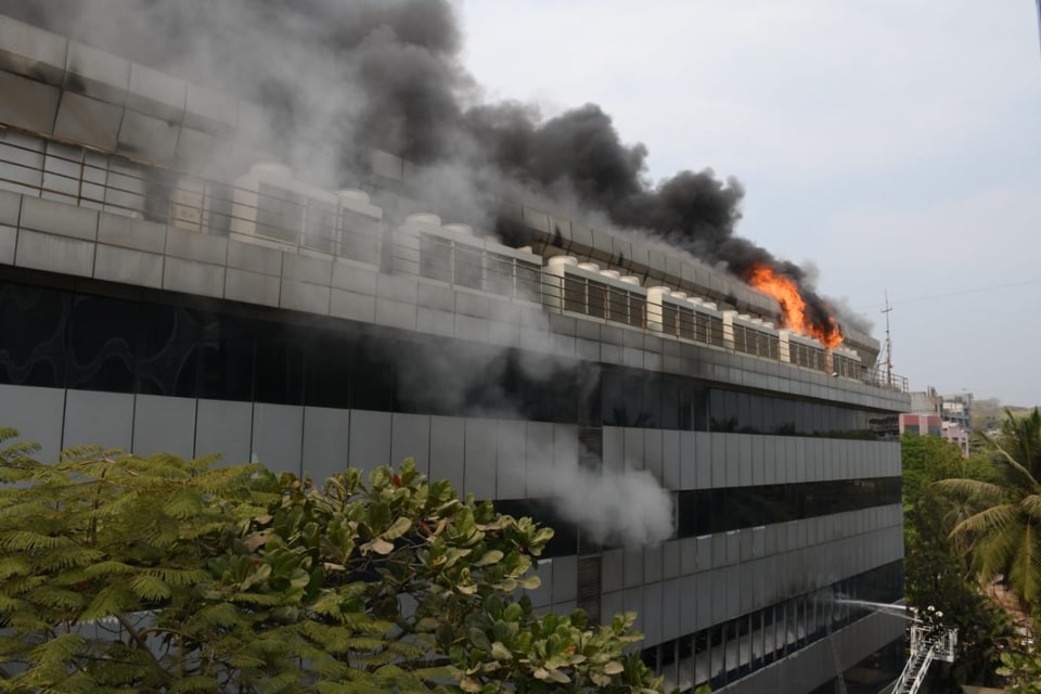 A senior fire official said that the intensity of the fire quickly escalated to level three, which is considered to be major.