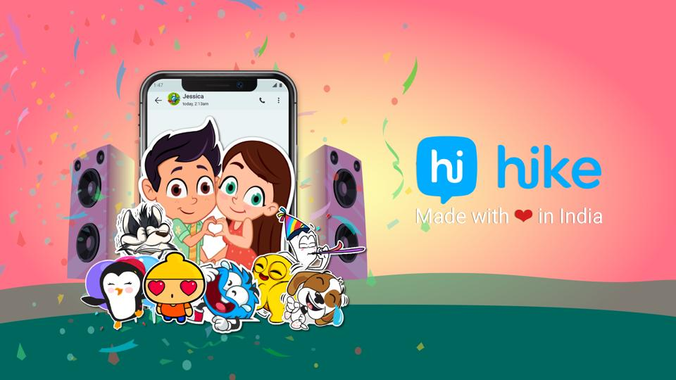 Howto share Hike stickers on other apps.
