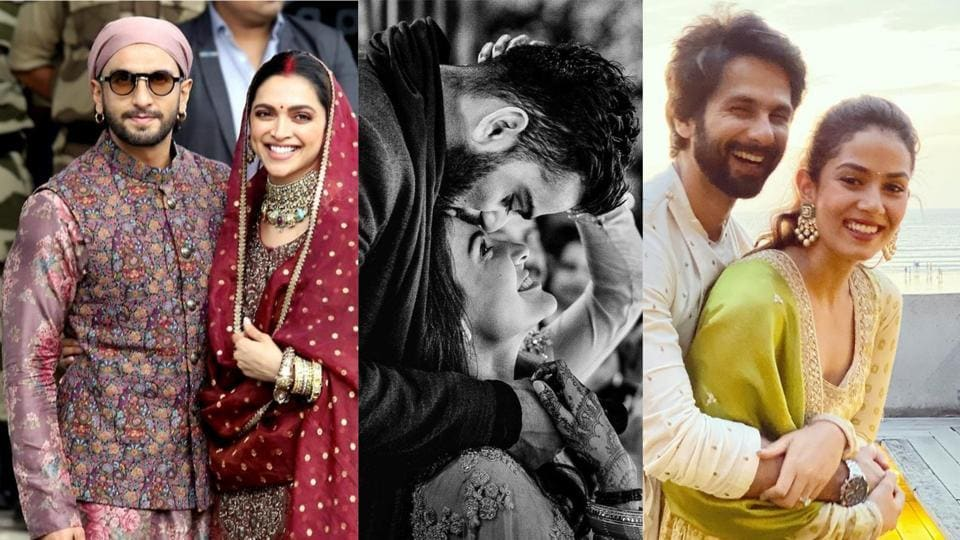 Valentine's Day 2020: Ranveer Singh-Deepika Padukone, Anushka Sharma-Virat Kohli and Shahid Kapoor-Mira Rajput are among the most fancied couples in Bollywood.