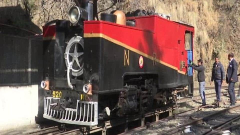The railway department has kept the train running for its historical importance.