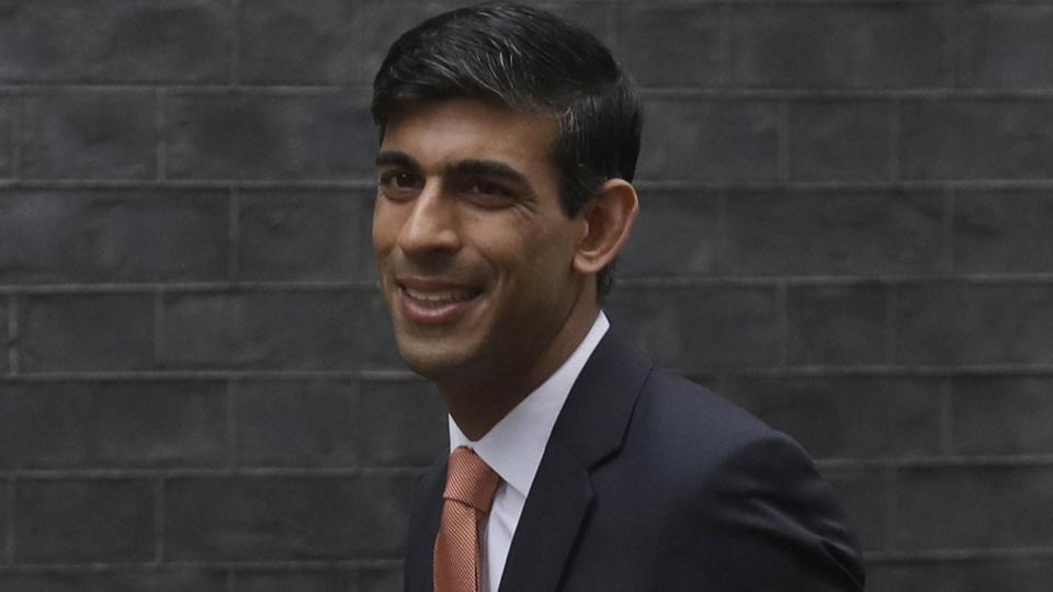 British lawmaker Rishi Sunak, Chief Secretary to the Treasury, Chief Secretary to the Treasury arrives at 10 Downing Street in London.