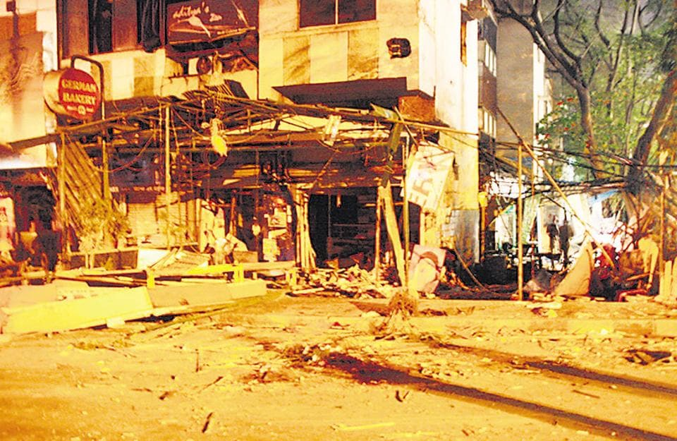THEN: A high intensity bomb exploded  at the German Bakery in Koregaon Park on Saturday evening, February 13, 2010.