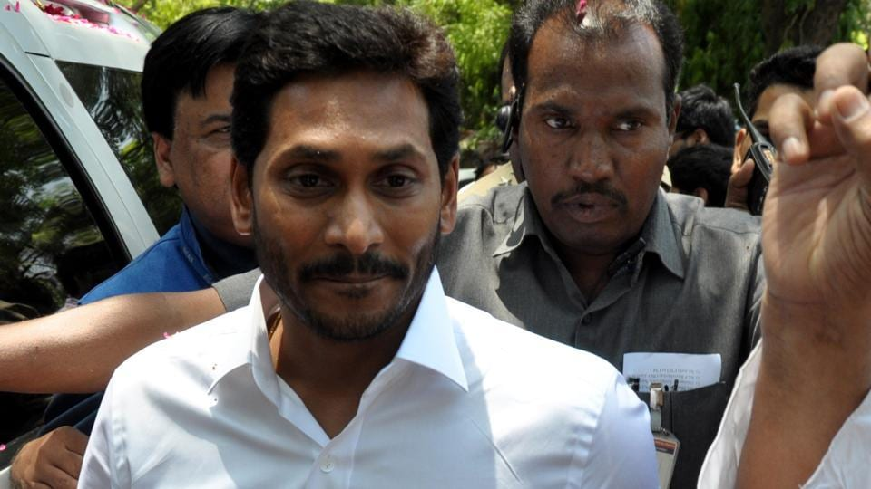YSR Congress Party President and Andhra Pradesh Chief Minister-designate YS Jagan Mohan Reddy.