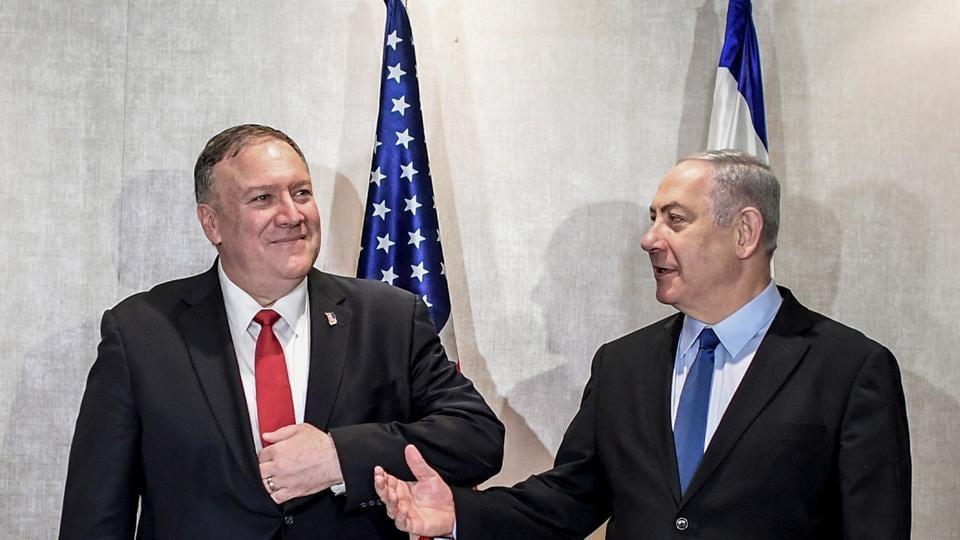 The United States Secretary of State Mike Pompeo meets Israeli Prime Minister Benjamin Netanyahu in Lisbon.