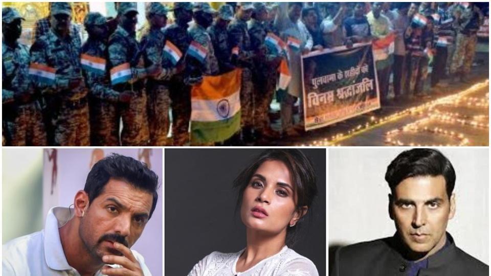 Richa Chadha, AkshayKumar and JohnAbraham among others paid tributes on Pulwama attack's first anniversary.
