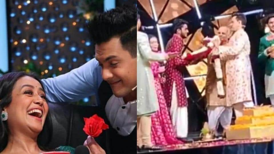 Neha Kakkar and Aditya Narayan's wedding video has gone viral.
