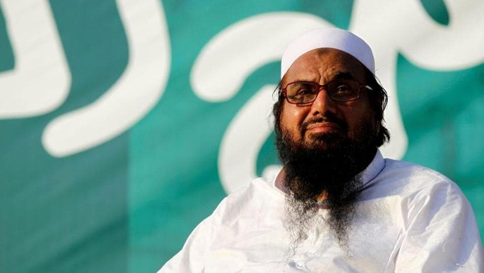 Hafiz Saeed, the 69-year-old head of the Jamaat-ud-Dawah (JuD), and an aide, were both given five-and-a-half year jail terms in two cases of terror financing by an anti-terrorism court in Lahore on Wednesday.