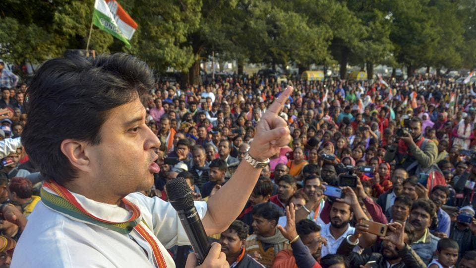 Terming the Delhi poll results as disappointing, Scindia told reporters at Prithvipur in Madhya Pradesh the Congress needs to reinvent itself with a new ideology