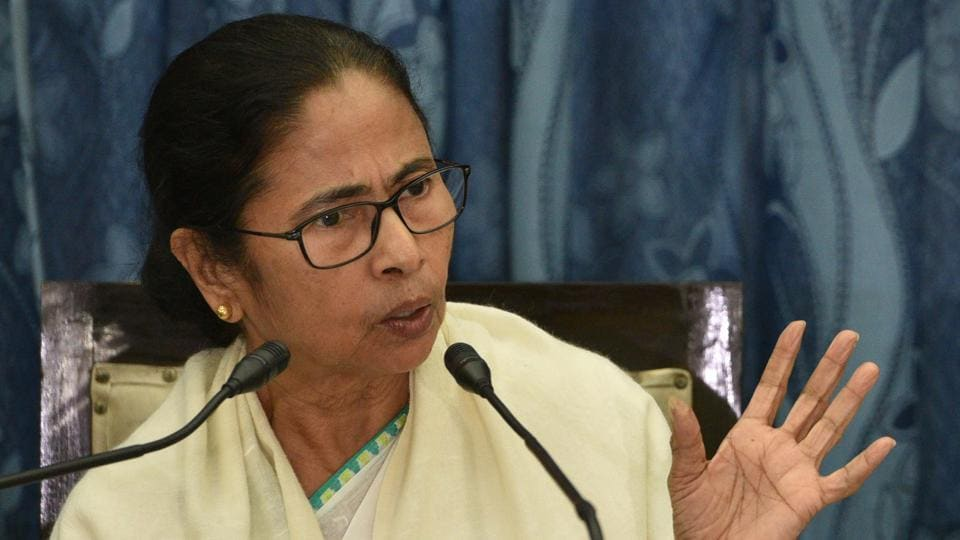 Chief Minister Mamata Banerjee after the state budget 2020-21 presentation, on February 10.