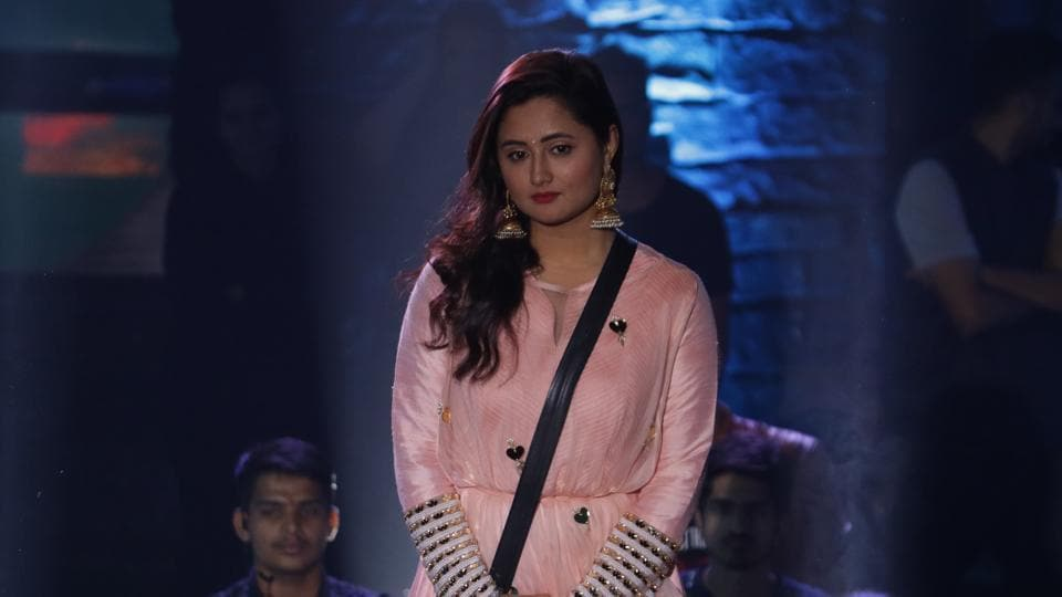 Bigg Boss 13: As per reports, Rashami Desai was evicted after Rohit Shetty conducted a task inside the house, leaving Sidharth Shukla, Shehnaaz Gill and Asim Riaz in the race for the trophy.