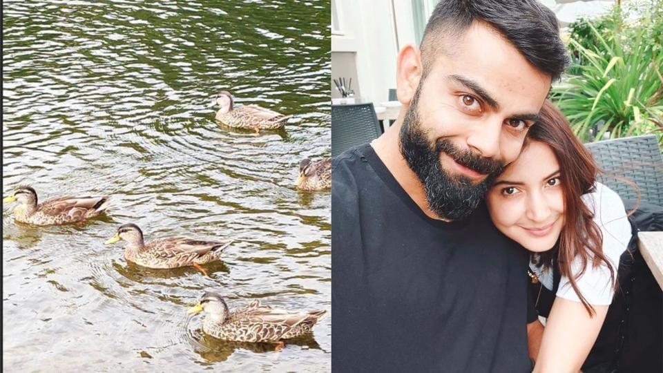 Anushka Sharma can't let go of Virat Kohli in Valentine's Day selfie