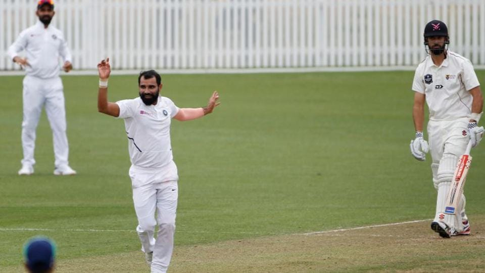 Mohammed Shami picked up 3 wickets on day 2 of the warm-up match against New Zealand XI