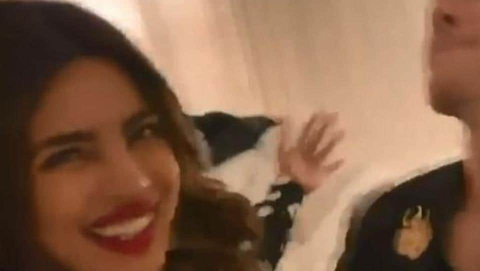 Priyanka Chopra celebrates Valentine's Day with Nick Jonas, dances to Aankh Marey. 'We just want to see your babies,' say fans