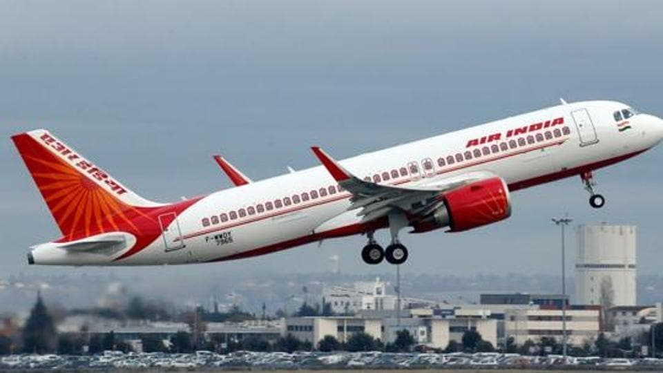 An Air India aircraft's fuselage was damaged when its pilot decided to immediately lift the plane to avoid hitting a person and a jeep