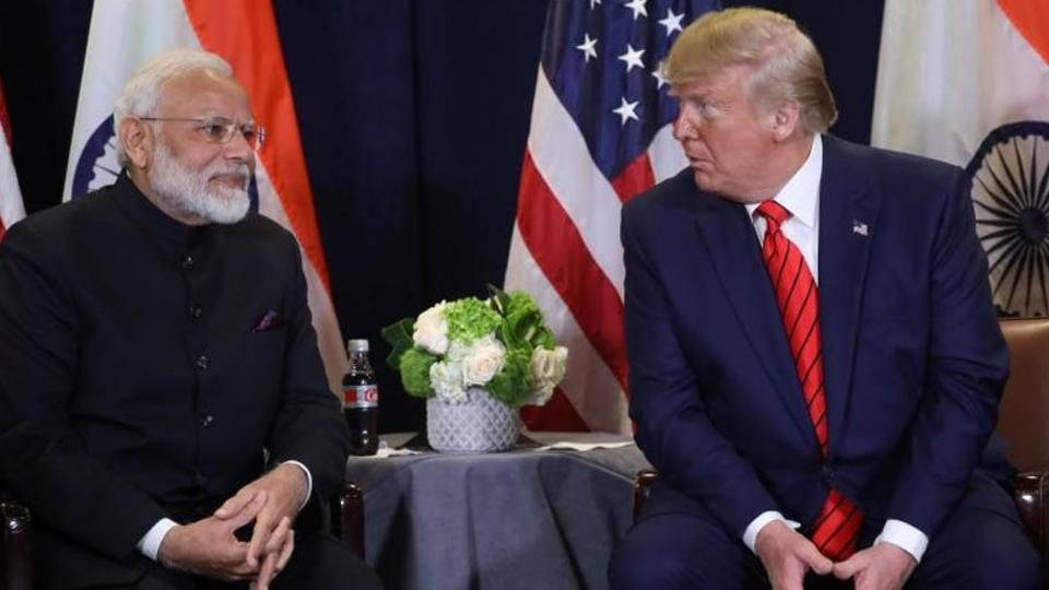 FILE PHOTO: U.S. President Donald Trump holds a bilateral meeting with India's Prime Minister Narendra Modi on the sidelines of the annual United Nations General Assembly in New York City, New York, U.S., September 24, 2019. REUTERS/Jonathan Ernst