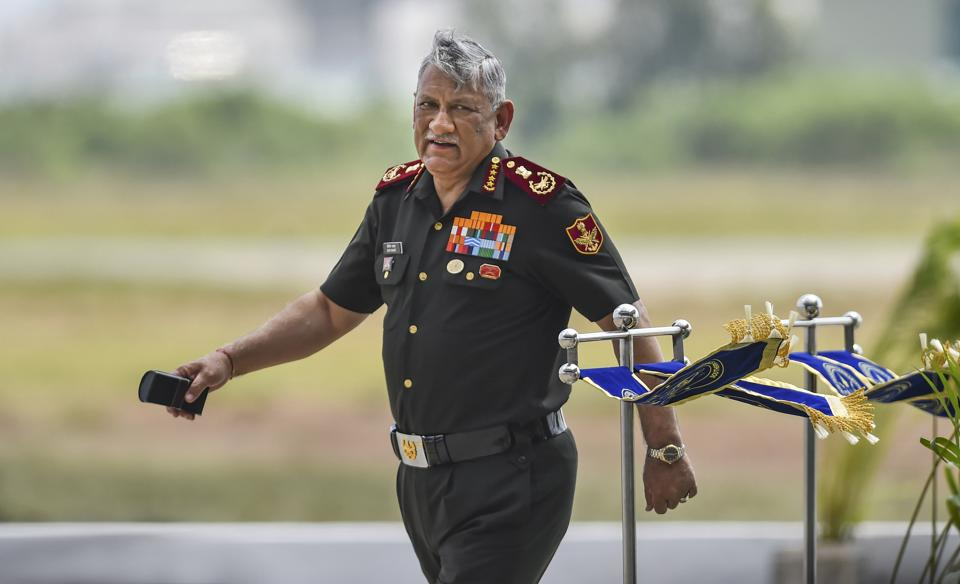 Chief of Defence Staff General Bipin Rawat. The CDS department has sought the government's approval for the appointment of one secretary who will be responsible for transformation and coordination