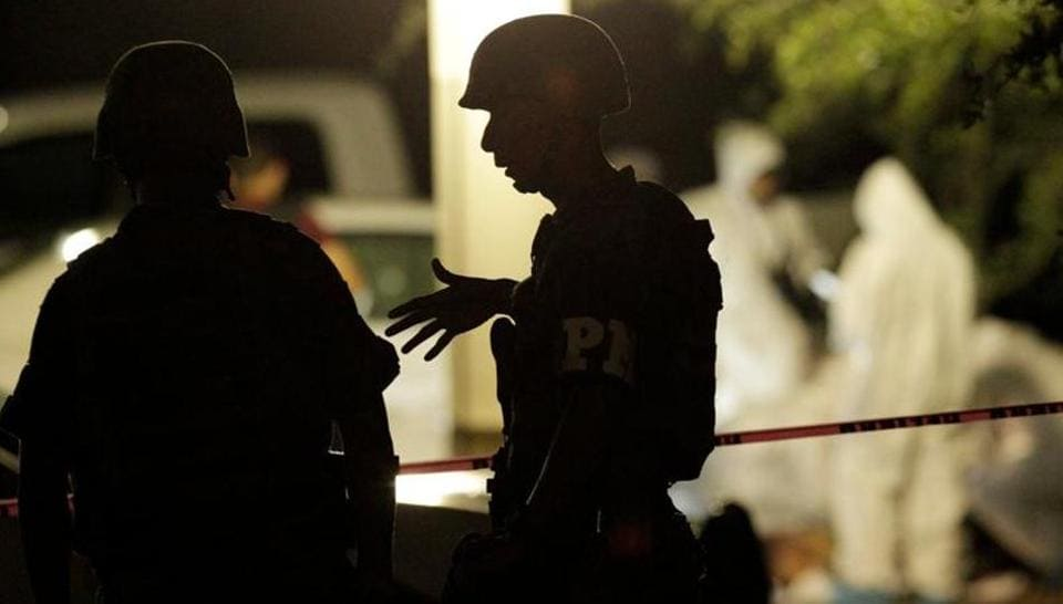 There were a reported 35,588 homicides in Mexico last year