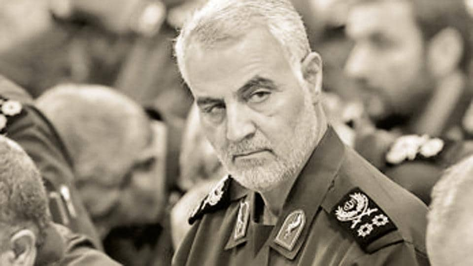 Top Iranian General Qasem Soleimani's was killed in USairstrike at Baghdad airport on January 3, 2020.