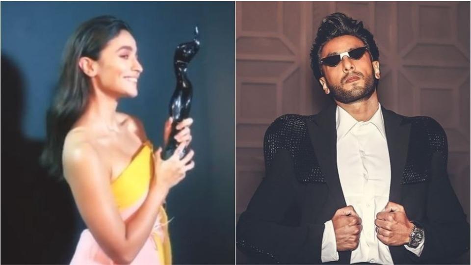 Filmfare Awards: Alia Bhatt and Ranveer Singh took Best Actress and Best Actor awards, respectively.