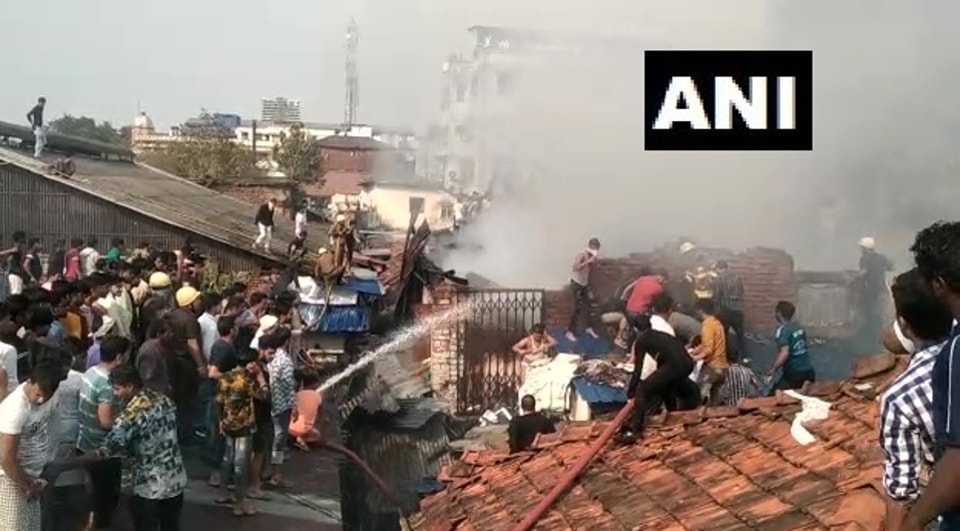 Fire breaks out at Rajabazar in Kolkata, brought under control in two hours