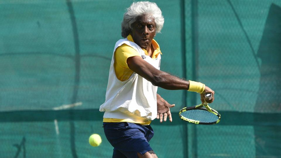 Tennis legend Anand Amritraj ahead of the of Calcutta South Club Centenary celebrations.