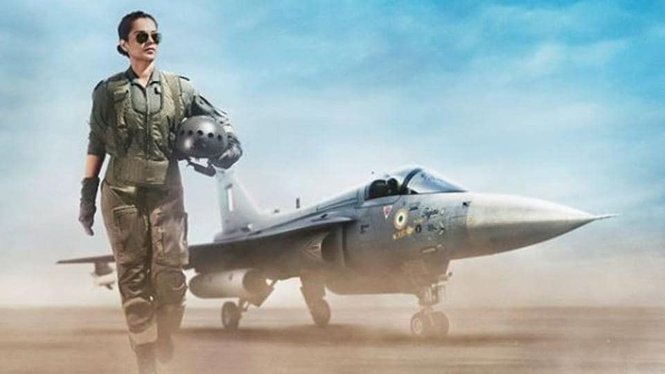 Tejas first look: Kangana Ranaut plays Air Force pilot in the film.