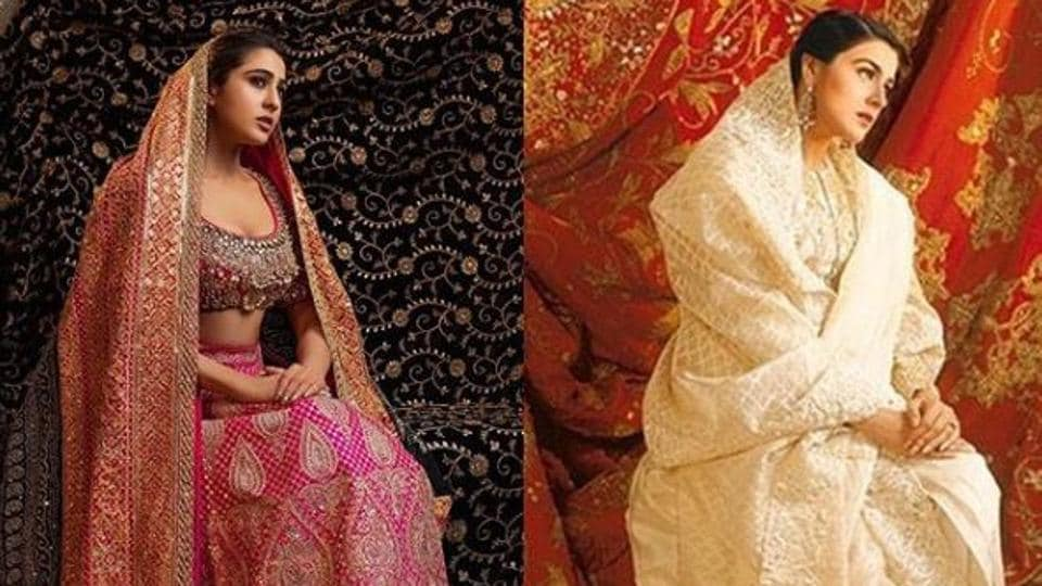 Sara Ali Khan as a bride is a mirror image of mom Amrita Singh, see pic