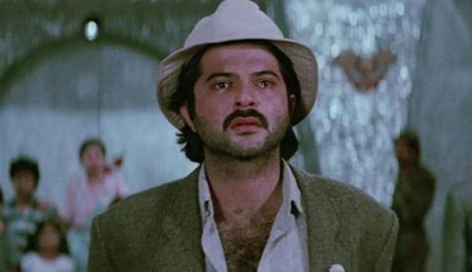 Anil Kapoor played the titular role of Mr India in Shekhar Kapur's film that featured Sridevi and Amrish Puri.