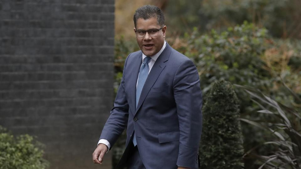 UK minister Alok Sharma appointed COP26 president
