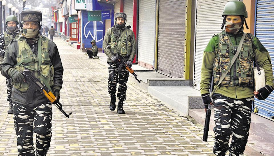 Security forces kill three terrorists in Jammu and Kashmir's Tral