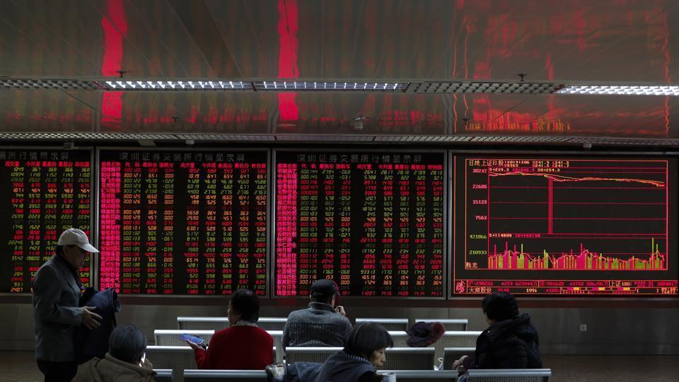 The Shanghai benchmark has jumped nearly 2 per cent after China's central bank cut interest rates to help ease credit for companies stricken by the coronavirus outbreak.