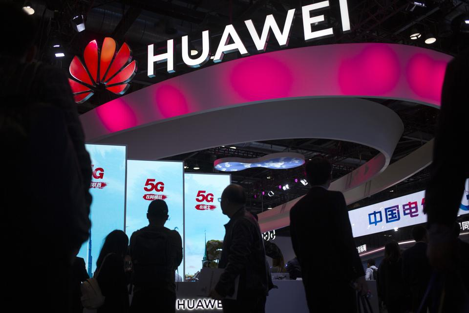 US has imposed sanctions on Huawei.