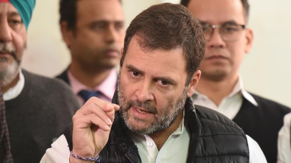 """The video of two young Dalit men being tortured in Rajasthan is """"horrific and sickening"""", said Rahul Gandhi."""
