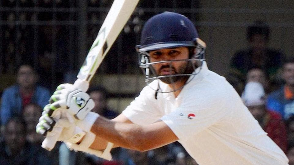 File image of Parthiv Patel in action in Ranji Trophy.