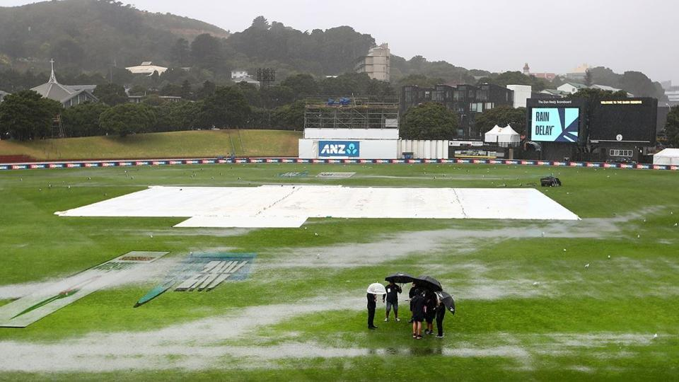 India vs New Zealand score 1st Test: Rain washes out final session