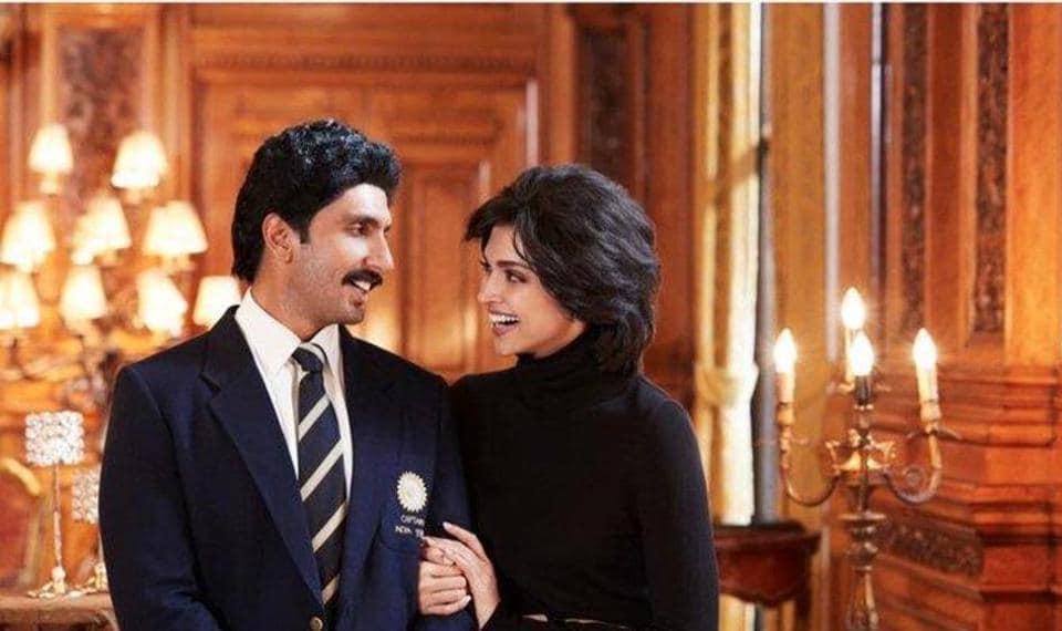 Deepika Padukone teams up with husband Ranveer Singh to play Kapil Dev's wife Romi in Kabir Khan's film.