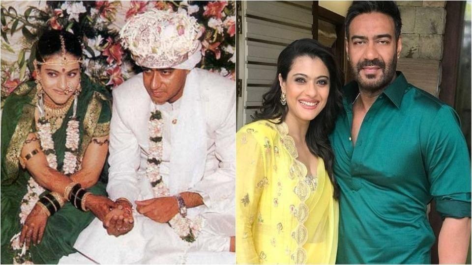 Ajay Devgn and Kajol are celebrating their 21st anniversary.
