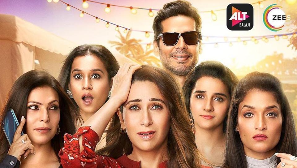 New Mentalhood poster features Shilpa Shukla, Tillotama Singh, Karisma Kapoor, Dino Morea, Shruti Seth and Sandhya Mridul.