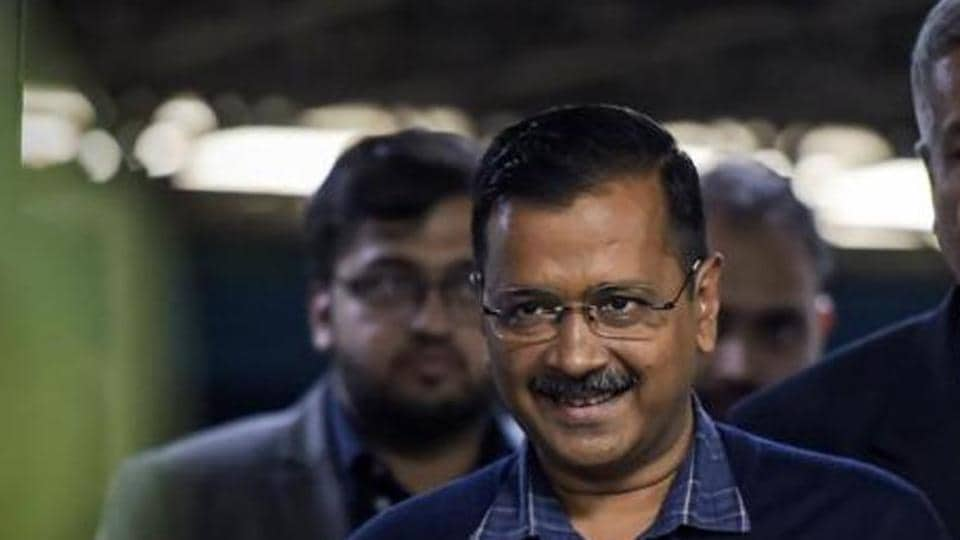 Delhi Chief Minister Arvind Kejriwal in New Delhi, February 19, 2020