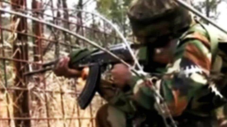 Indian forces respond to ceasefire violation by Pakistan in Jammu and Kashmir
