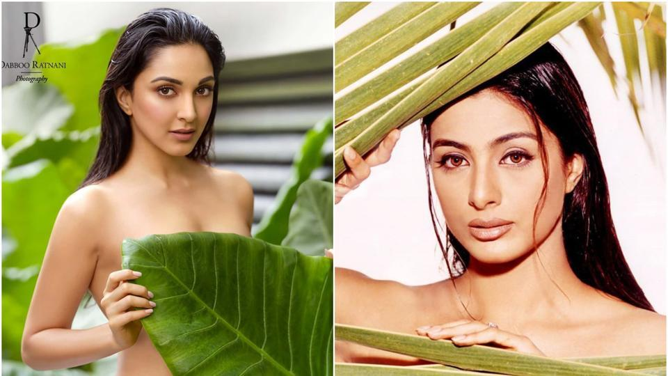 Dabboo Ratnani says Kiara Advani's shot was inspired by Tabu's picture from 2002: 'I admit to plagiarising my own self'