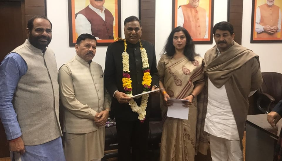 The  BJP appointed its MLA Ramvir Singh Bidhuri as the leader of opposition in the Delhi Assembly.