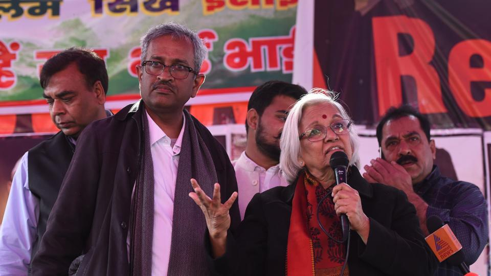 Senior lawyers Sanjay Hegde and Sadhana Ramachandran were appointed interlocutors by the Supreme Court last week to speak to anti Citizenship Act protesters at  Shaheen Bagh to find ways to end a road block at the protest site in Southeast Delhi.