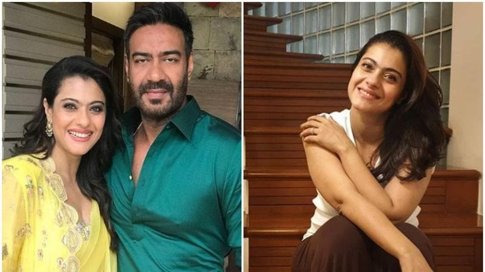 Kajol asked husband Ajay Devgn for a selfie, his hilarious response is now a viral photo thumbnail