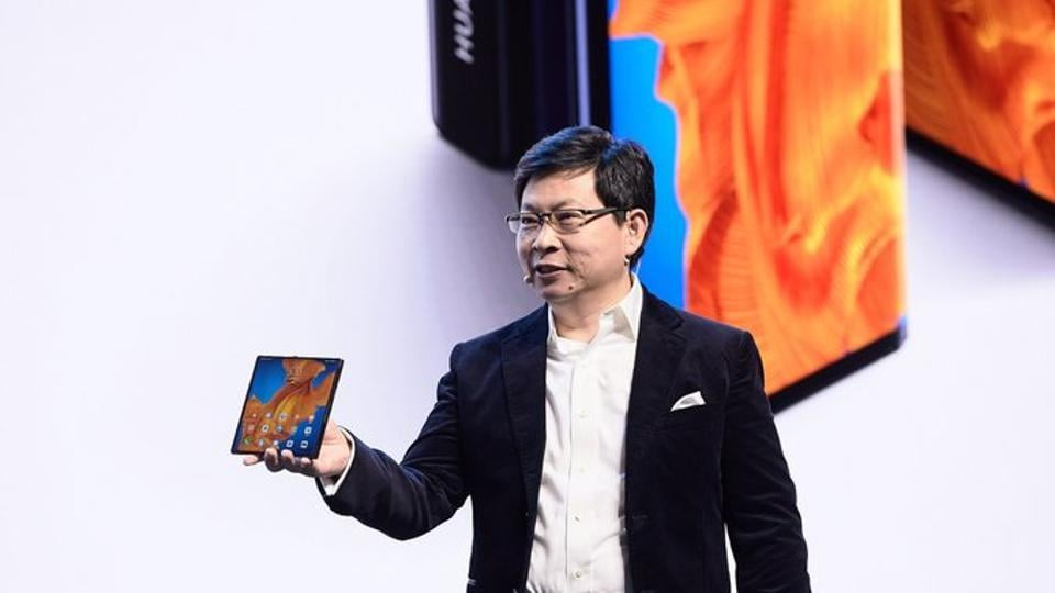 The smartphone runs on Huawei EMUI 10 interface and open-source Android 10 mobile operating system.