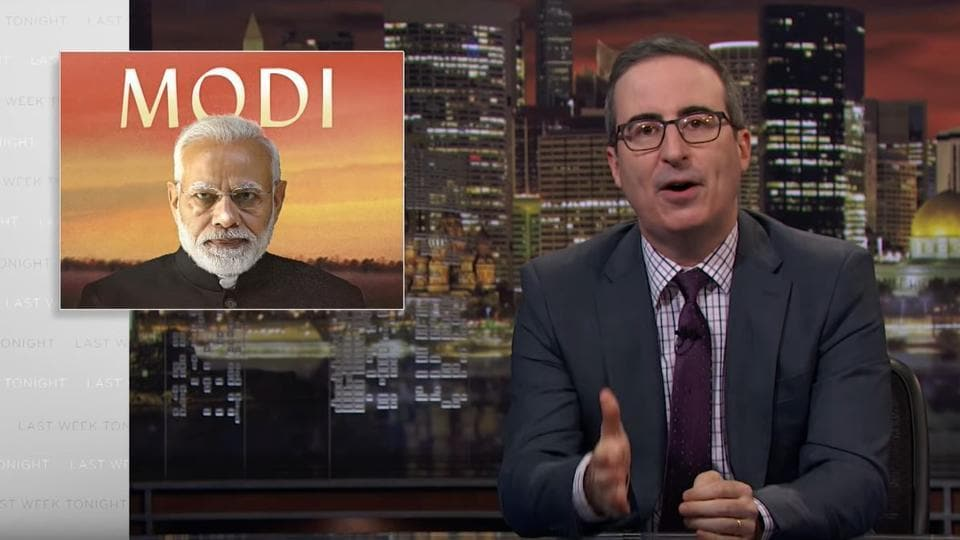 John Oliver's episode on PM Modi is still available on YouTube to watch.