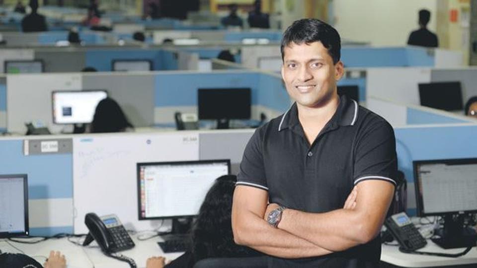 Byju Raveendran, founder of edtech firm Byju's.