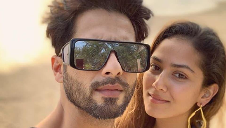 Shahid Kapoor and Mira Rajput are couple goals.