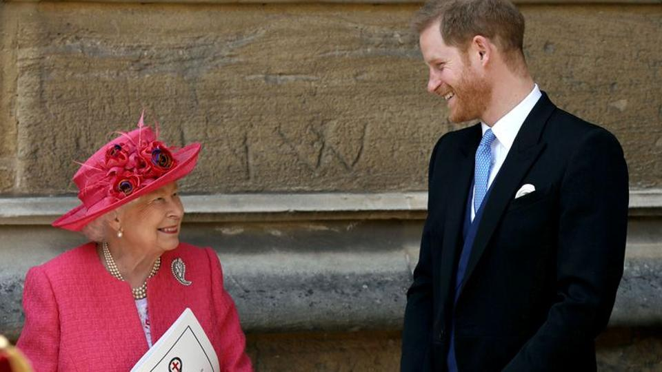 The Duke of Sussex, the queen's grandson who is sixth in line to the throne, rocked the monarchy with the announcement that he and his wife wanted to step back from their roles in January. Feb. 25, 2020.
